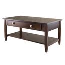 Winsome 94140 Richmond Coffee Table, Antique Walnut Finish