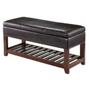 Winsome 94143 Monza Bench with Storage Chest