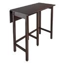 Winsome 94149 Lynnwood Drop Leaf High Table