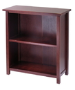 Winsome 94228 Wood Milan Storage Shelf or Bookcase, 3-Tier, Medium