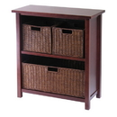 Winsome 94238 Milan 4pc Cabinet/Shelf with 3 Baskets