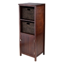 Winsome 94301 3pc Brooke Jelly Cupboard with 2 Baskets, 17.35