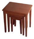 Winsome 94320 Wood Regalia 3pc Nesting Table