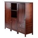 Winsome 94357 Brooke 3-Pc Jelly Cupboard Set