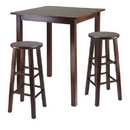 Winsome 94390 Parkland 3pc High Table with 29