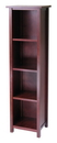 Winsome 94416 Wood Milan Storage Shelf or Bookcase 5-Tier, Tall