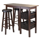 Winsome 94531 Egan 5pc Table with 2 - 30