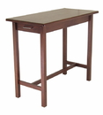 Winsome 94540 Wood Kitchen Island Table with 2 drawers