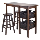 Winsome 94564 Egan 5pc Table with 2 - 24
