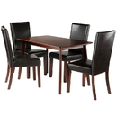 Winsome 94574 Shaye 5-PC Set Dining Table w/ Chairs