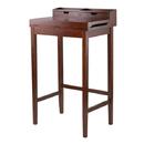 Winsome 94628 Brighton High Desk, Antique Walnut Finish