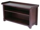 Winsome 94640 Wood Verona Bench with Storage shelf
