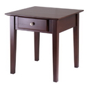 Winsome 94821 Rochester End Table with one Drawer, Shaker