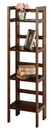 Winsome 94852 Wood 4-Tier Folding Shelf, Narrow