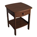 Winsome 94918 Claire Accent Table Anitque Walnut Finish