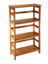 Winsome 99342 Wood Studio Bookshelf 3-tier
