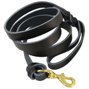 """Ray Allen Manufacturing 3224XXX KNOT BRAIDED HEAVY LEATHER LEASH (7/8"""")"""