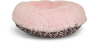 Bessie and Barnie BB-BAGEL-12 Bagel Bed - Bubble Gum and Versailles Pink or Customize your Own