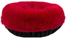 Bessie and Barnie BB-BAGEL-22 Bagel Bed - Lipstick and Black Puma or Customize your Own
