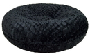 Bessie and Barnie BB-BAGEL-30 Bagel Bed - Serenity Black or Customize your Own