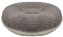 Bessie and Barnie BB-BAGEL-31 Bagel Bed - Serenity Grey and Snow White or Customize your Own