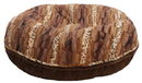 Bessie and Barnie BB-BAGEL-36 Bagel Bed - Wild Kingdom and Godiva Brown or Customize your Own