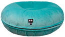 Bessie and Barnie BB-BAGEL-3 Bagel Bed - Aqua Marine or Customize your Own