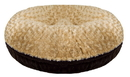 Bessie and Barnie BB-BAGEL-40 Bagel Bed- Camel Rose and Godiva Brown - or Customize your Own