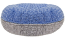 Bessie and Barnie BB-BAGEL-41 Bagel Bed -Serenity Grey and Blue Sky- Customize your Own
