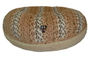 Bessie and Barnie BB-BAGEL-4 Bagel Bed - Aspen Snow Leopard and Blondie or Customize your Own