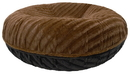 Bessie and Barnie BB-BAGEL-6 Bagel Bed - Black Puma and Godiva Brown or Customize your Own
