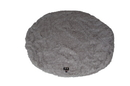 Bessie and Barnie BB-BAGEL-BED-COVER-ONLY-3 Bagel Bed Cover- Serenity Grey or Customize your Own