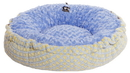 Bessie and Barnie BB-BAGELETTE-2 Bagelette Bed- Blue Sky and Robin Egg or Customize your Own