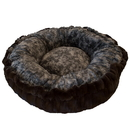 Bessie and Barnie BB-BAGELETTE-3 Bagelette Bed- Godiva Brown and Koala or Customize your Own