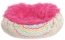 Bessie and Barnie BB-BAGELETTE-6 Bagelette Bed- Lollipop and Ocean Wave or Customize your Own