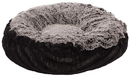 Bessie and Barnie BB-BAGELETTE-7 Bagelette Bed- Midnight Frost and Black Puma or Customize your Own