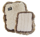 Bessie and Barnie BB-CRATE-MATS Crate Pad - Blondie and Natural Beauty with Simba ruffles or Customize your Own