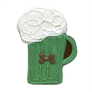 Bubba Rose Biscuit BKGMUG Green Beer Mug