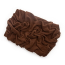 Mutts and Mittens BLSFBR Brown Solid Fleece Fabric Blanket Pet Bed