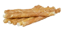 Lucky Premium Treats CW1-1 Small Dog Size - Chicken Wrapped Rawhide Dog Treats