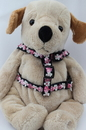 Diva Dog DD-COCOPINHAR Coco Collection - Pink Step In Harnesses All Metal Buckles