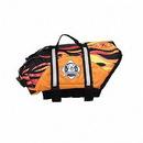 """Hunter K9 Wholesale F0000 Dog Life Jacket - """"RACING FLAMES"""" Paws Aboard Dog Life Vest   Pet Preserver"""
