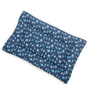 Mutts and Mittens FLCBP Blue Paw Cotton Fabric Flat Pet Bed
