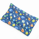 Mutts and Mittens FLCCA Catmosphere Cotton Fabric Flat Pet Bed