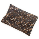 Mutts and Mittens FLCMP Muddy Paw Cotton Fabric Flat Pet Bed