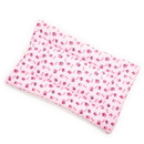 Mutts and Mittens FLCPP Pink Paw Cotton Fabric Flat Pet Bed