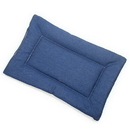 Mutts and Mittens FLDSBL Blue Denim Fabric Flat Pet Bed