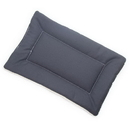 Mutts and Mittens FLDSCG Charcoal Gray Denim Fabric Flat Pet Bed