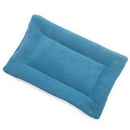 Mutts and Mittens FLSFBL Blue Solid Fleece Fabric Flat Pet Bed