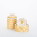 Creature Comforts GOLD Gold Trellis Bowls & Treat Jars Collection